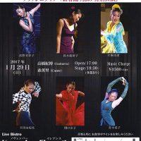 ノヴェンバーイレブンスPartⅡフラメンコライブ「新春踊り初め 特別公演」